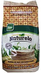 Majsmjöl Vitt Tortillas 10x1kg Naturelo