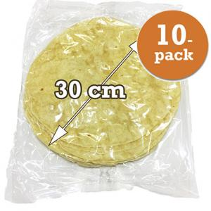 Tortilla Vete 30cm 10x10st Ambient