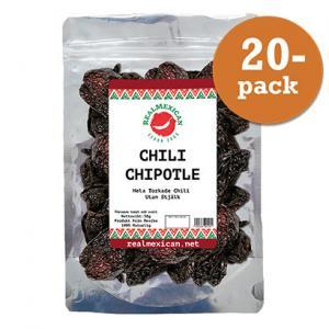 Chili Chipotle Torkad 20x50g RealMexican