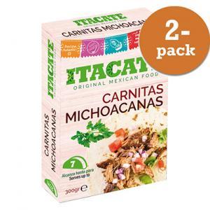 Carnitas Michoacanas 2x300g ITACATE