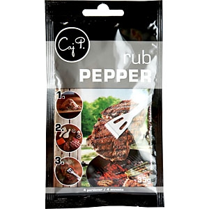 Rub Peppar Caj P 1x35g KORT HÅLLBARHET