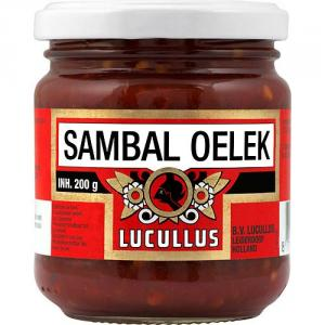 Sambal Oelek Lucullus 12x200g