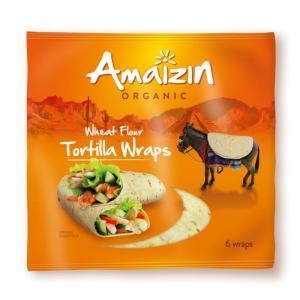 Tortilla Wrap Eko 16x240g Amaizin