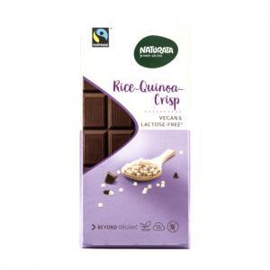 Choklad Quinoa Crisp Eko 11x100g Naturata