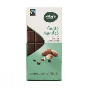 Choklad Hel Mandel Eko 12x100g Naturata