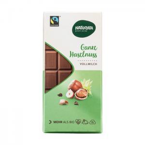 Choklad Helnöt Eko 10x100g Naturata