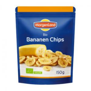 Bananchips Eko 7x150g Morgenland