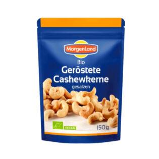 Cashewnötter Rostade Eko 9x150g Morgenland