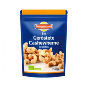 Cashewnötter Rostade Eko 3x150g Morgenland