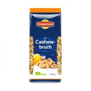 Cashewnötter Bitar Eko 2x500g Morgenland