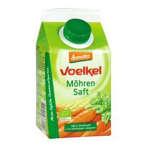 Morotsjuice Mjölksyrad Eko 2x500ml Voelkel