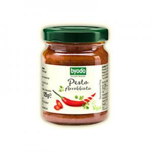 Pesto Arrabbiata Eko 2x125g Byodo