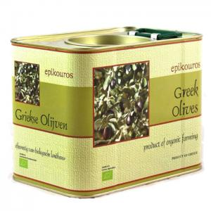 Gröna Oliver Med Kärna Eko 3,5kg Epikouros