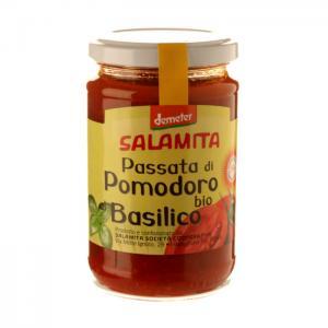 Tomatsås Basilika Eko 2x250g Salamita