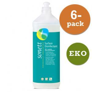 Desinfektionsmedel Eko 6x1l Sonett