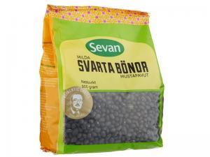Svarta Bönor 12x900g Sevan