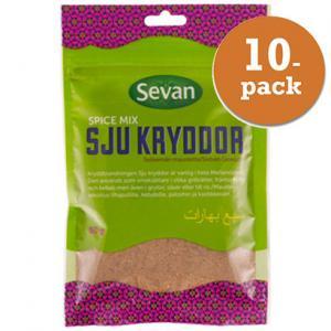 Sju Kryddor 10x50g Sevan