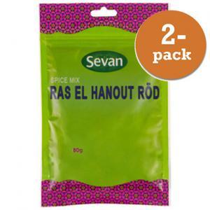 Ras El Hanout Röd 2x80g Sevan
