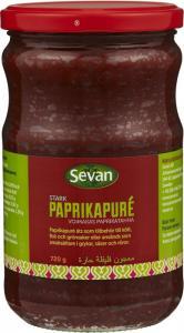 Paprikapuré Stark 12x720g Sevan