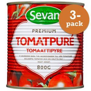 Tomatpuré 3x800g Sevan