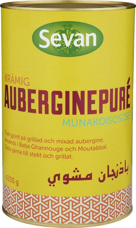 Auberginepuré 3x4,2kg Sevan