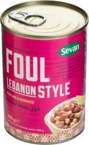 Favabönor Lebanese Style 12x400g Sevan