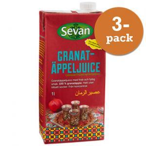 Granatäppeljuice 3x1l Sevan