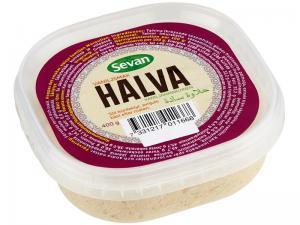 Halva Vanilj 12x400g Sevan
