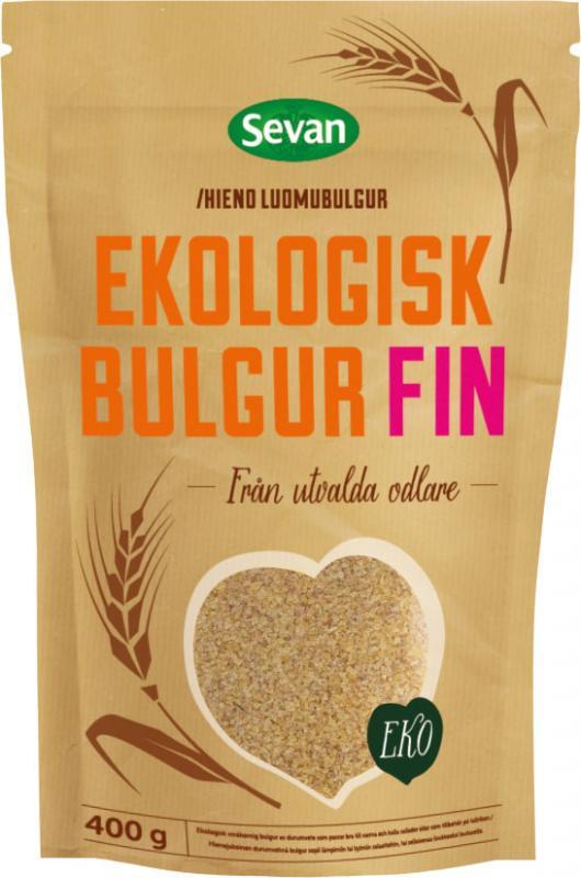 Bulgur Fin Eko 12x400g Sevan