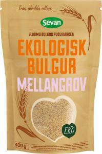 Bulgur Mellangrov Eko 12x400g Sevan