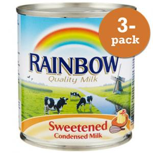 Kondenserad Mjölk Sötad 3x397g Rainbow