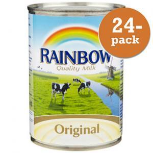 Kondenserad Mjölk Osötad 24x410g Rainbow