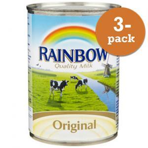 Kondenserad Mjölk Osötad 3x410g Rainbow