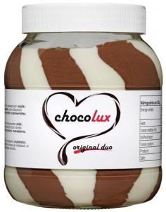 Choklad & Hasselnötscreme Mix 2x750g Chocolux