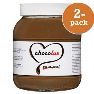 Choklad & Hasselnötscreme 2x750g Chocolux