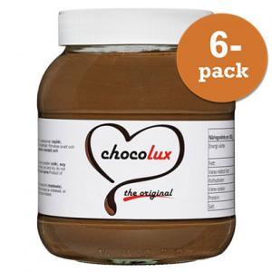 Choklad & Hasselnötscreme 6x750g Chocolux