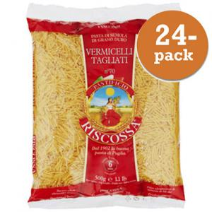 Vermicelli Tagliati No70 24x500g Riscossa