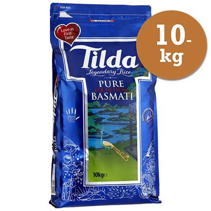 Basmatiris 10kg Tilda