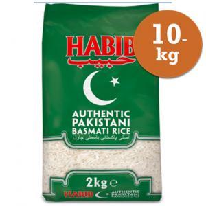 Basmatiris 10kg Habib