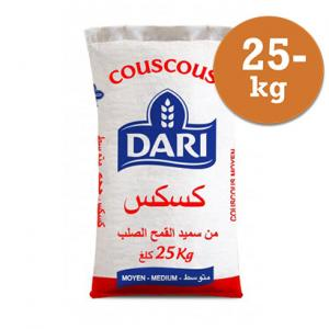 Couscous Medium 25kg Dari
