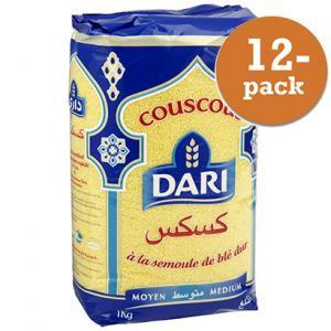 Couscous Medium 12x1kg Dari
