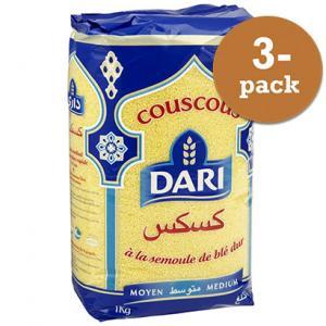 Couscous Medium 3x1kg Dari