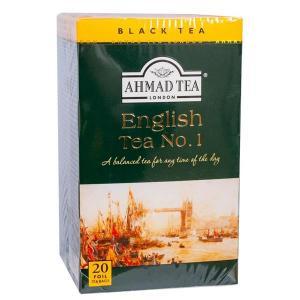 Te English Tea No 1 1x20p Ahmad KORT HÅLLBARHET