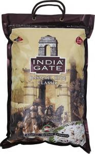 Basmatiris Sella 5kg India Gate Classic
