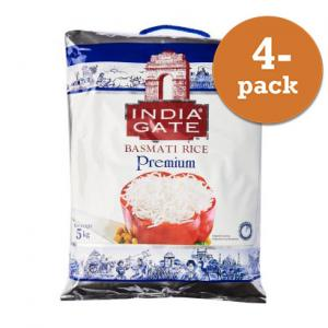 Basmatiris Premium 4x5kg India Gate