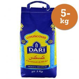 Couscous Medium 5kg Dari