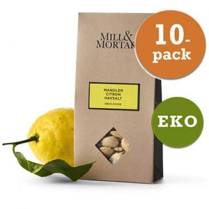 Mandlar Citron 10x100g Mill & Mortar