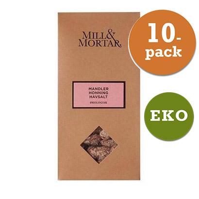 Mandlar Honung 10x100g Mill & Mortar