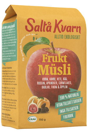 Müsli Frukt 10x750g Saltå Kvarn