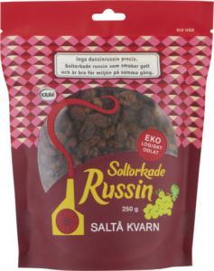Russin 12x250g Saltå Kvarn